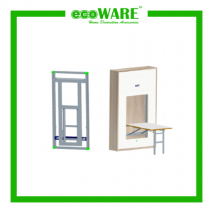 CS06 PULL DOWN TABLE WITH SOFT OPEN