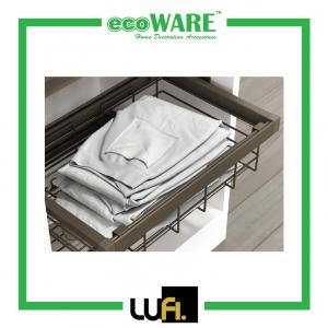 Caldo 001 Wire Closet Basket With Soft Close Side