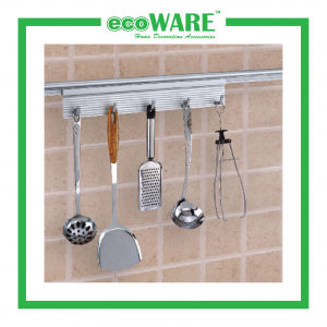 Aluminium Spoon Holder With 5 Hooks