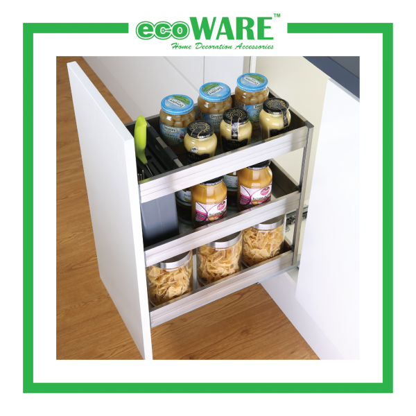 250mm 3 Tier Multi-function Pull Out Basket