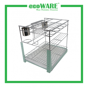 Multi-function Three Layer Pull Out Basket(PTJ-012)