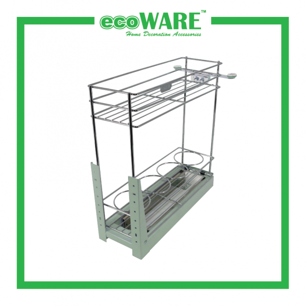 Multi-function Two Layer Pull Out Basket