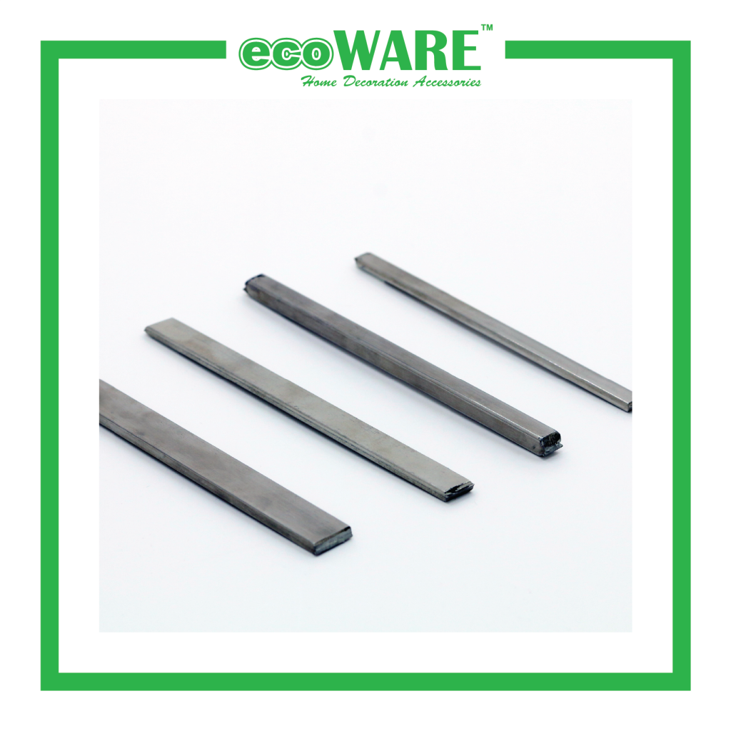 STAINLESS STEEL FLAT BAR WITH POLISHED CHROME