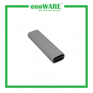 Aluminium Oval Pipe with Support